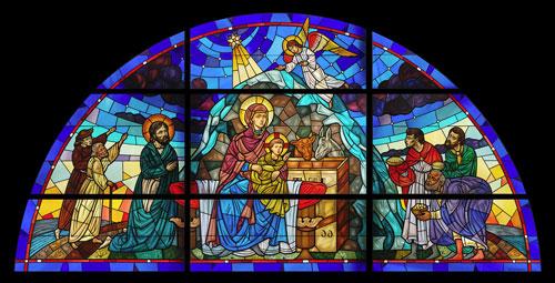 Image: The Nativity, Western Dioces of the Armenian Church, Burbank, California
